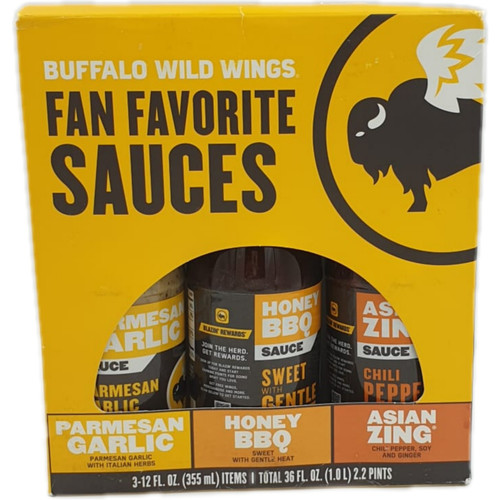 Buffalo Wild Wings Fan Favorite 3in1 Sauce