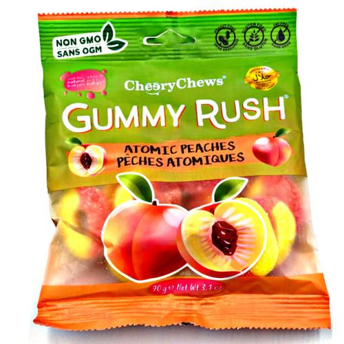 Gummy Rush Atomic Peaches