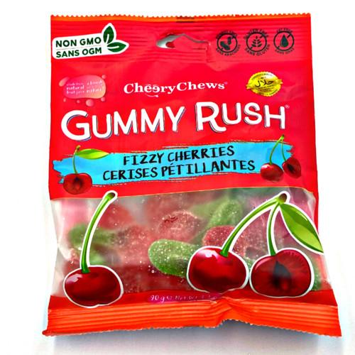 Gummy Rush Fizzy Cherries