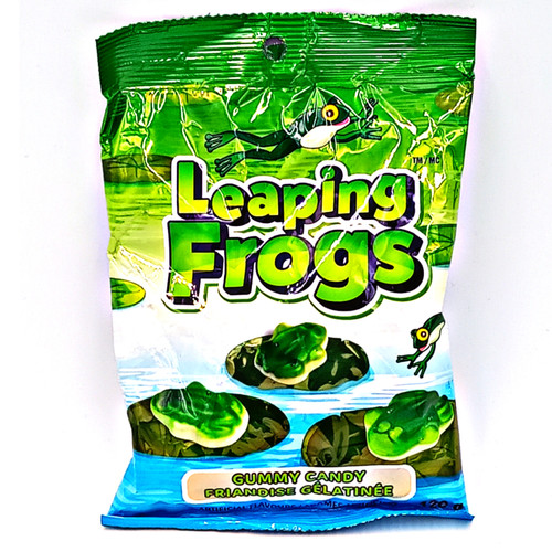 Leaping Frogs Gummy Candy