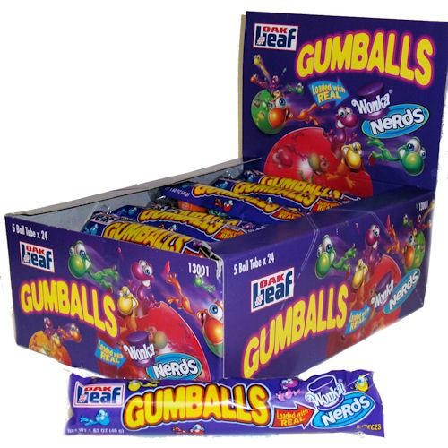 Gumballs Loaded with Nerds 45g
