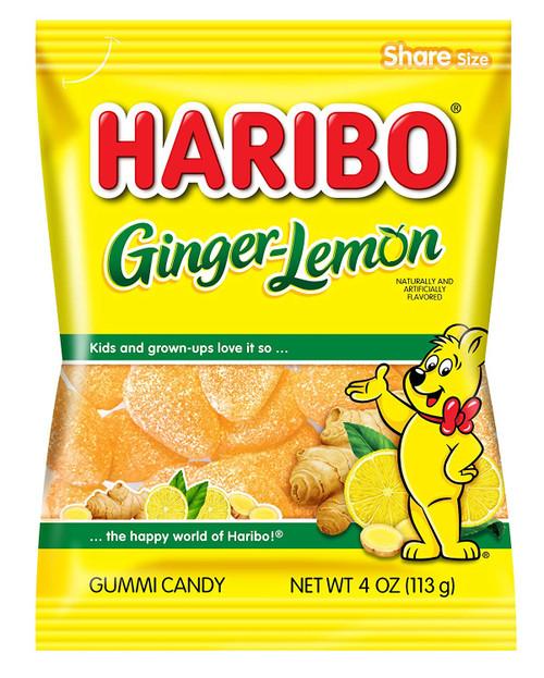 Haribo Ginger - Lemon 113g
