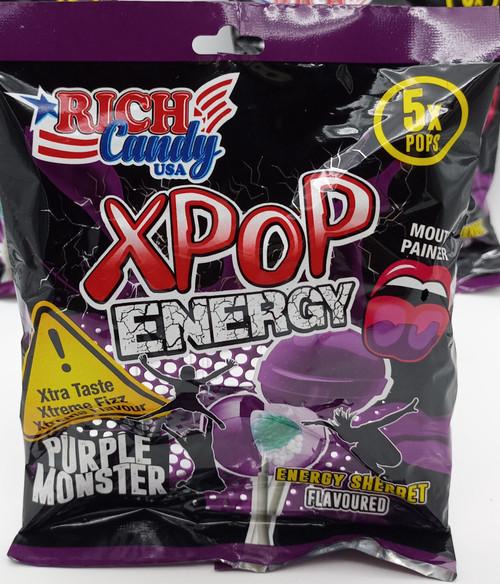 Richester Xpop Energy Sherbet Purple Monster 5x