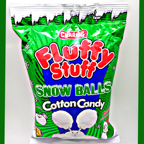 Charms Fluffy Stuff Snow Balls Strawberry Cotton Candy