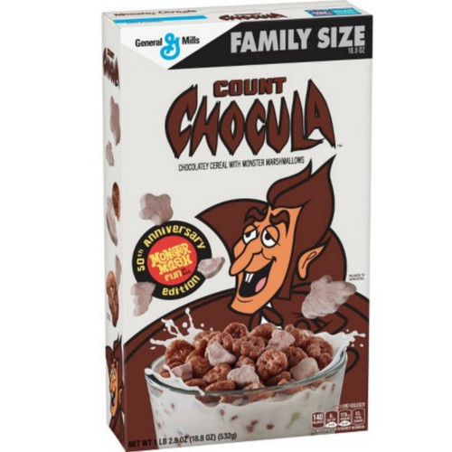 Count Chocula Chocolatey Monster Cereal Family Size