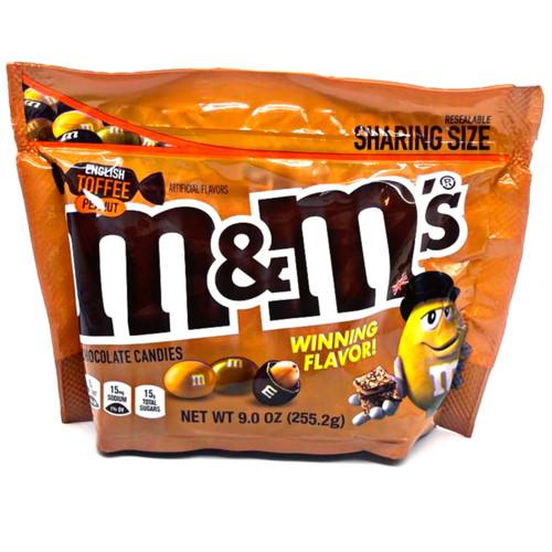 English Toffee Peanut M&M's Sharing size