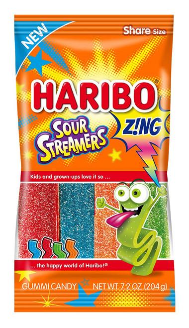 Haribo Sour Streamers 204g