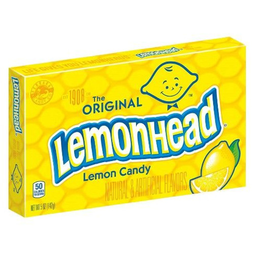 Lemonhead The Original Lemon Candy 142g