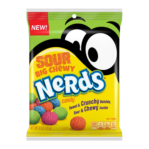 Nerds - Sour Big Chewy 170g bag