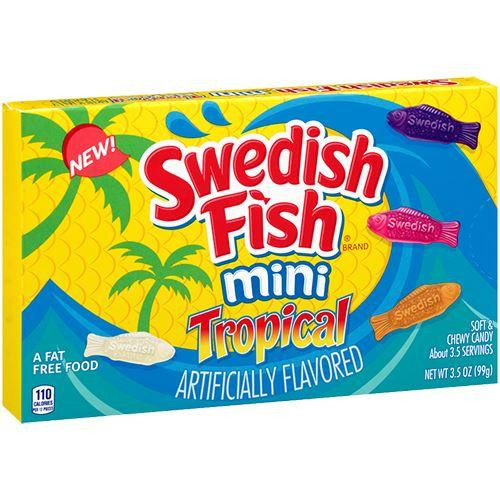 Swedish Fish Tropical Minis  99g