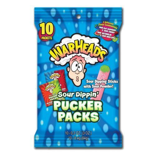 WarHeads Sour Dippin' Pucker Packs 84g