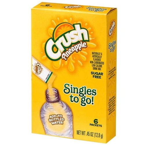 Crush Pineapple Singles to go 12.8g