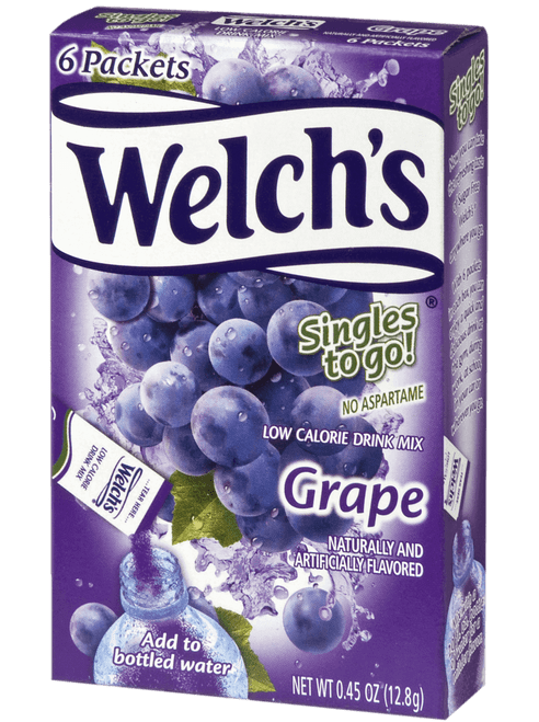 Welch's Grape Singles to go 12.8g