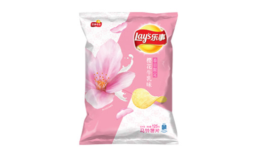 Lay's Cherry Blossom Flavor 65g