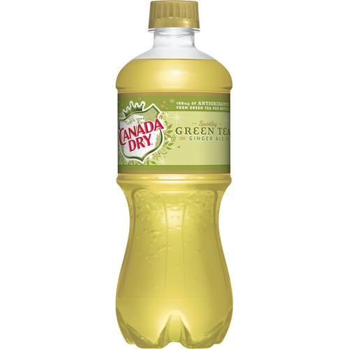Canada Dry - Green Tea 591 mL