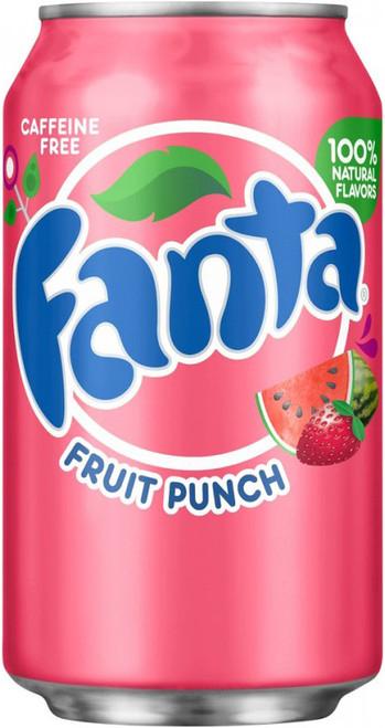 Fanta Fruit Punch 355 mL