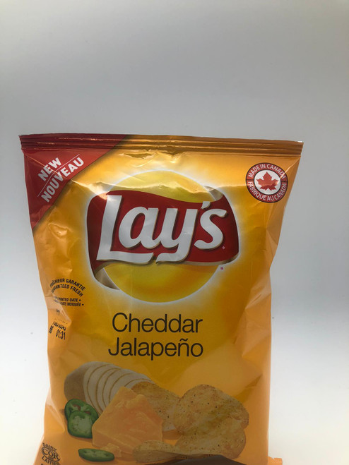 Lay's - Cheddar Jalapeno Potato Chips