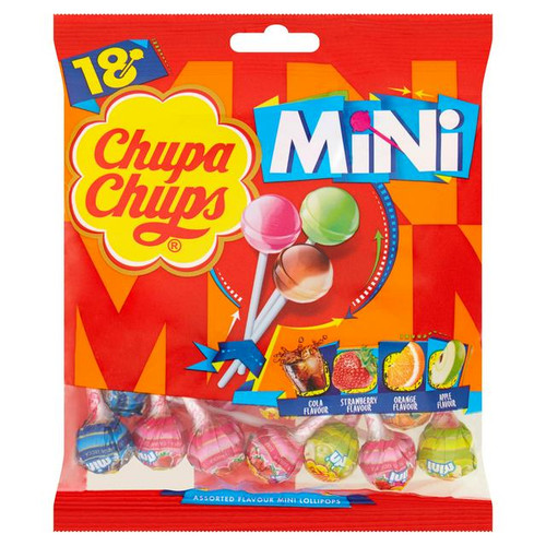 Chupa Chups Assorted Lollipops 108g