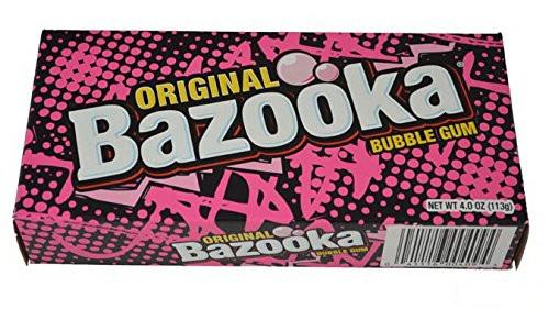 Bazooka Bubble Gum Theater Box