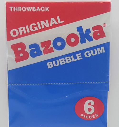Bazooka Throwback Original Bubble Gum