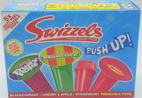 Swizzels Push Up freezable pops