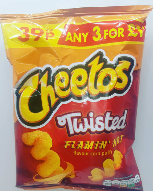 Cheetos Twisted Flaming Hot 30g