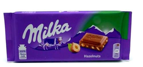 Milka Hazelnut Chocolate Bar 100g
