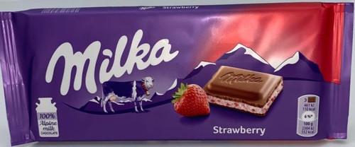 Milka Strawberry Creme (Poland)