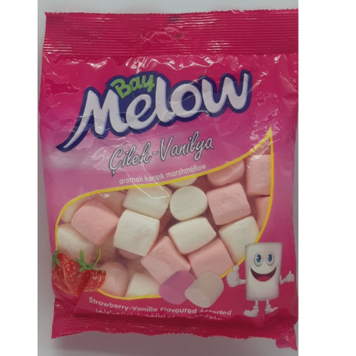 Halal Marshmallows Vanilla Strawberry