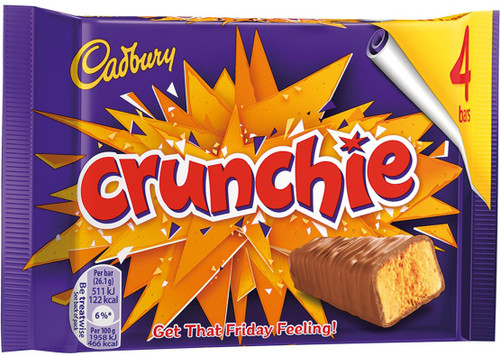 Cadbury Crunchie 4 pack 104.4g UK