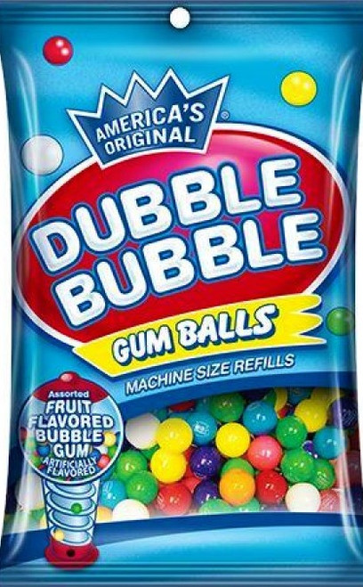 America's Original Dubble Bubble Gumballs 141g