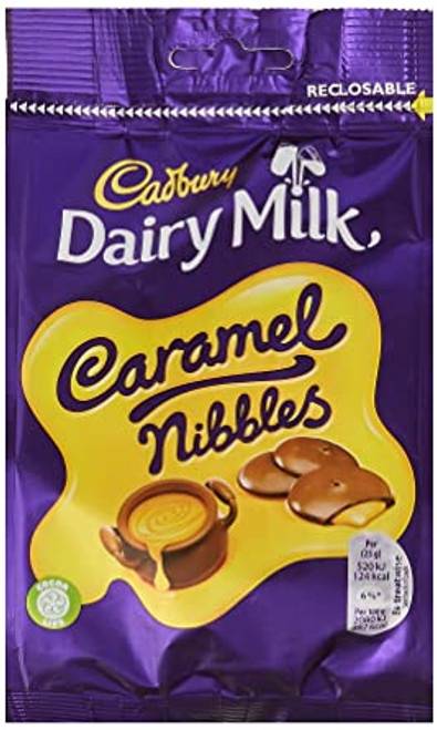 Dairy Milk Caramel Nibbles