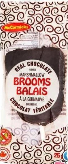 Chocolate Marshmallow Brooms 25g
