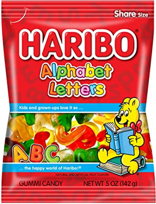 Haribo Alphabet Letters 142g