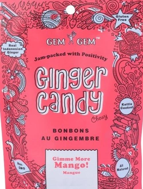 Gem Gem Chewy Ginger Candy - Mango