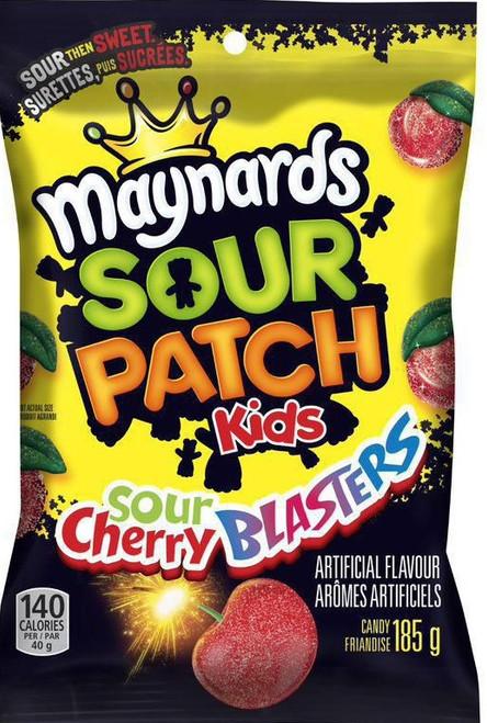 Maynards Sour Patch Kids Sour Cherry Blasters 185g