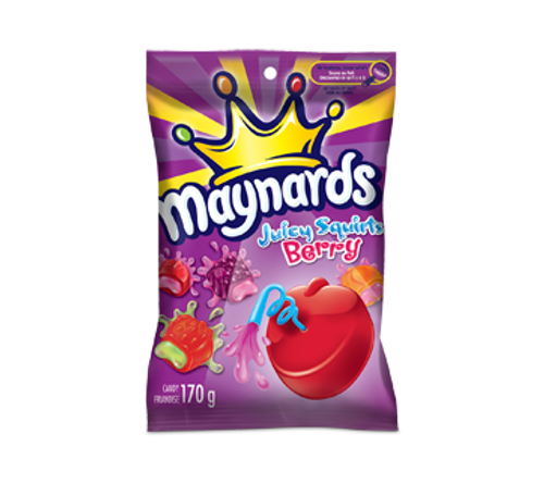 Maynards Juicy Squirts - Berry 170g