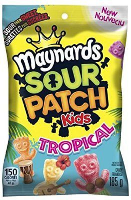 Maynards Sour Patch Kids Tropical 185 g