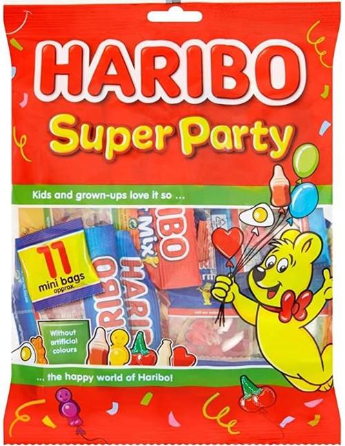Haribo Super Party 11 mini bags