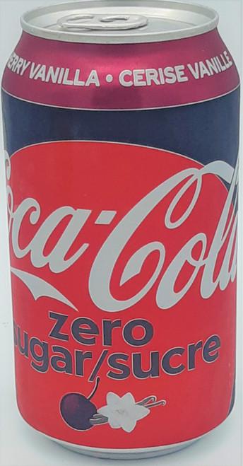 Coke Cherry Vanilla  Zero Sugar 355 mL