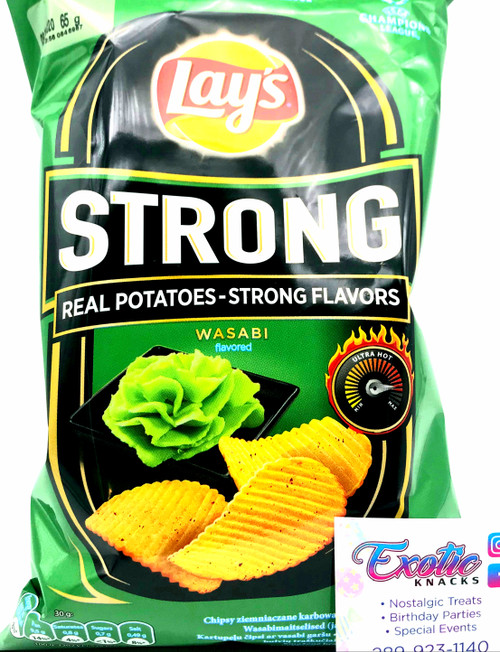 Lay's Strong Wasabi Flavored 65g