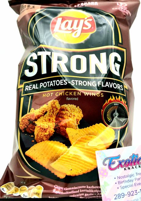 Lay's Strong Hot Chicken Wings Flavored 65g