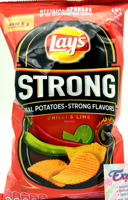 Lay's Strong Chilli and Lime Flavored 65g