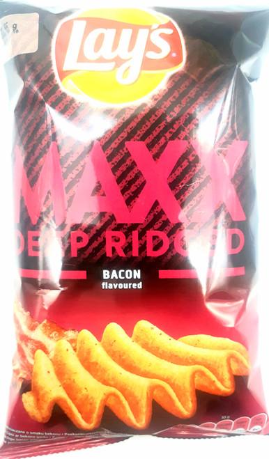 Lay's  Maxx Deep Ridged Bacon Flavoured  65g