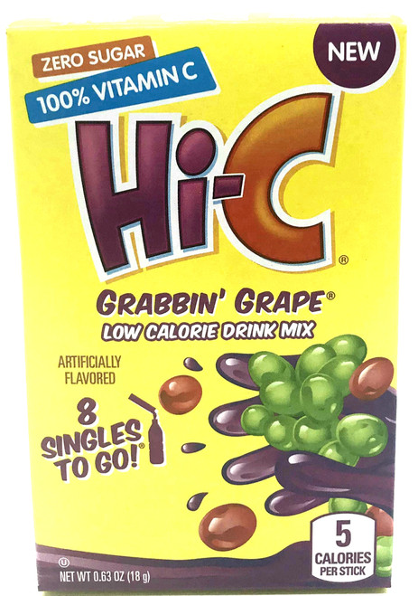 Hi-C Grabbin Grape Singles to Go