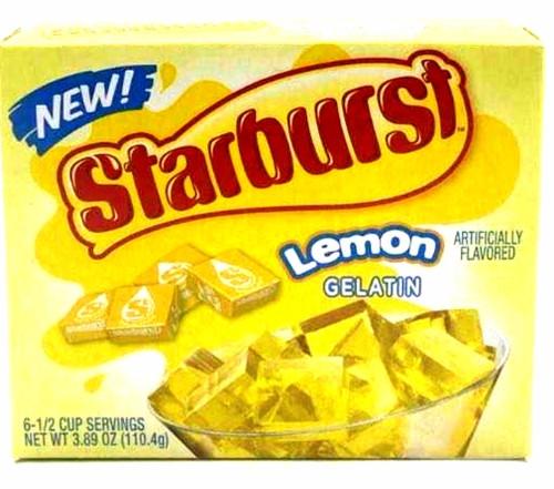 Starburst Gelatin Lemon Flavor