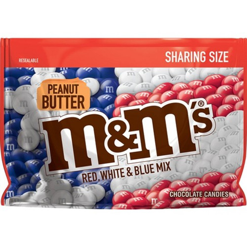 M&M'S Peanut Butter Red White & Blue