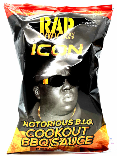 Rap Snacks-The Notorious BIG BBQ Cookout