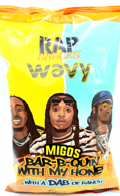 Migos Bar-B-Quin' With Dab of Ranch 78g