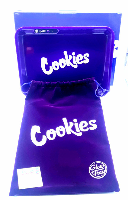 Cookies x Glow Tray LED Glowing Rolling Tray